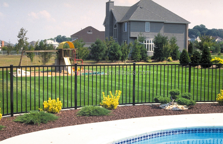 Ironcraft Black Powder Coated Aluminum Fence Panels Buy