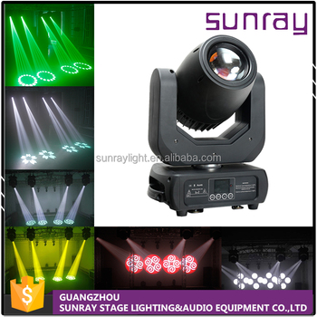 Dj Disco Stage Lamp 10 Channels Sound Activated Controllable 150W Sharp Beam Led Moving Head Stage Light