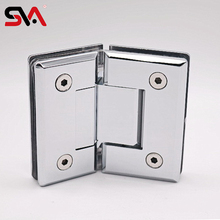 Custom Brass powdering auto furniture gate brass sheet metal hydraulic glass door closer hinge
