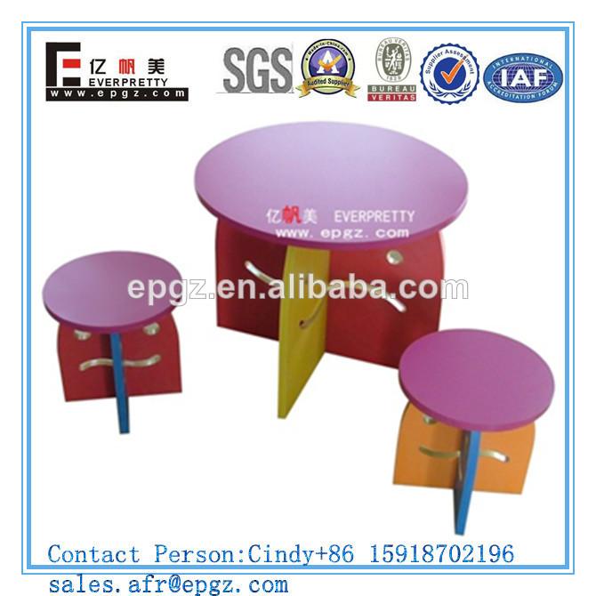 Utiliza mobiliario escolar para la venta/trimestre mesa redonda ...