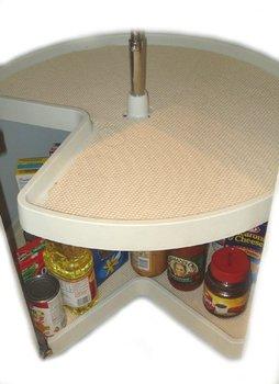 lazy susan shelf liner buy shelf liner product on. Black Bedroom Furniture Sets. Home Design Ideas