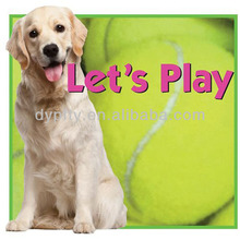 Inflatable giant tennis ball for pet toy