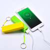 2019 Promotion item 2600mah phone portable charger with key chain Power Bank For iPhone Battery Charger