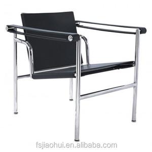 Superbe Le Corbusier Lc1 Chair Cowhide Leisure Chair