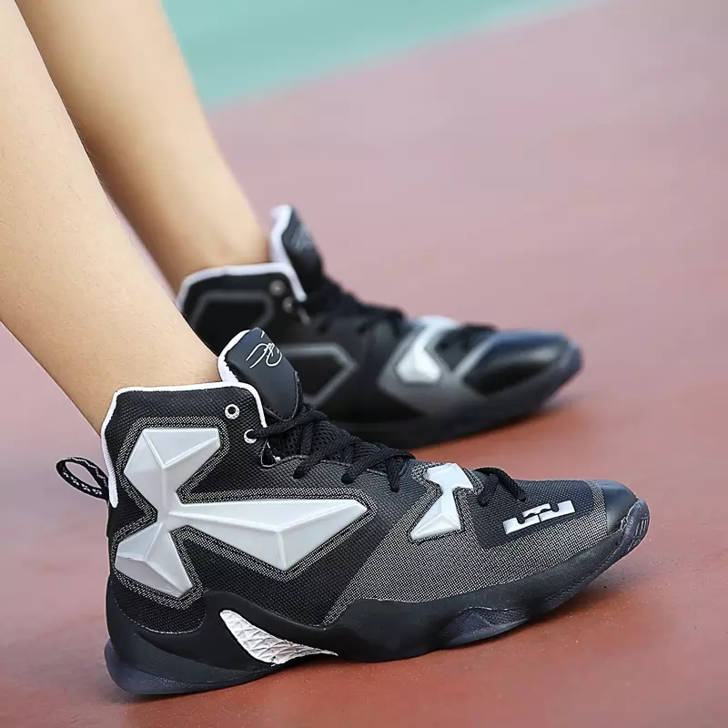 Brand Shoes Basketball High Adult Cut Basketball Shoes Boots For