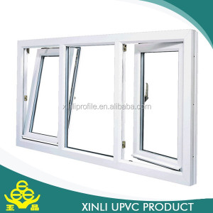 Building house used upvc material, high quality assurance