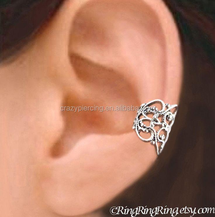 Punk Style Ear Cuff Ice Princess Arch Style Silver Gay Ear Cuff Wrap Clip Earring Buy Ear Cuff Wrap Clip Earring Punk Style Ear Cuff Ear Clips