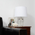 K9 Transparent Cutting Crystal Lamp for Living Room Elegant Polygon Desk Light