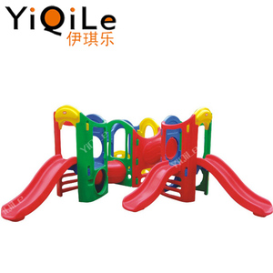 Small slide plastic for baby playground for plastic garden swing