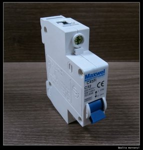 C45N high frequency mini circuit breakers for lighting