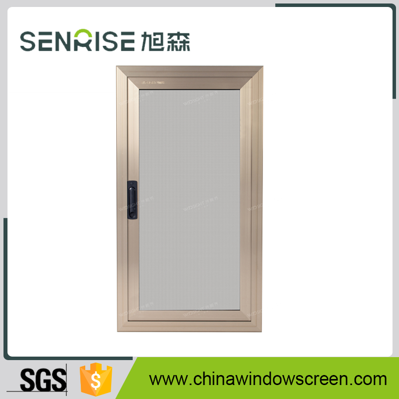 SSJ-0002 Outer Open Side Hinged Security Screen Window (Exterior Install)
