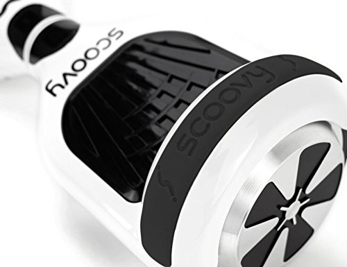 Protective Scoovy Replacement Bumper in 8 colors for Hoverboard / 2 Wheel Self Balancing Scooter - One Pair