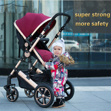 newest high landscape anti-shocks lightweight baby stroller factory Wholesale Luxury aluminium stroller pram