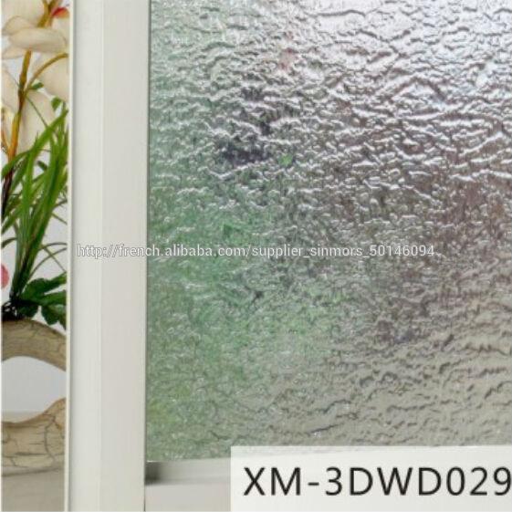 3d d coration stickers muraux d coratifs en verre opaque stickers autocollant de fen tre auto. Black Bedroom Furniture Sets. Home Design Ideas