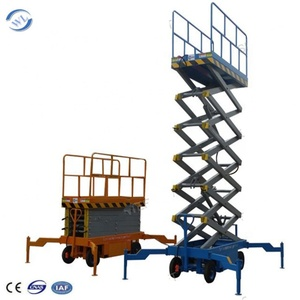 Scissor Lift Mechanism Electric Moto Scissor Lift aerial work platform