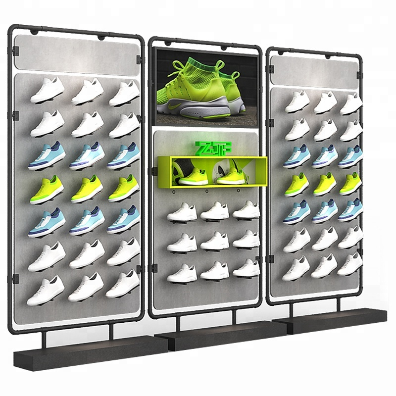 retail shoes shop free design idea,new sport slatwall shoe <strong>display</strong>,wooden shoe <strong>display</strong> rack