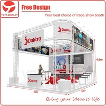 Yota offer 6m by 6m expo display stands, stand rental service in Guangzhou,