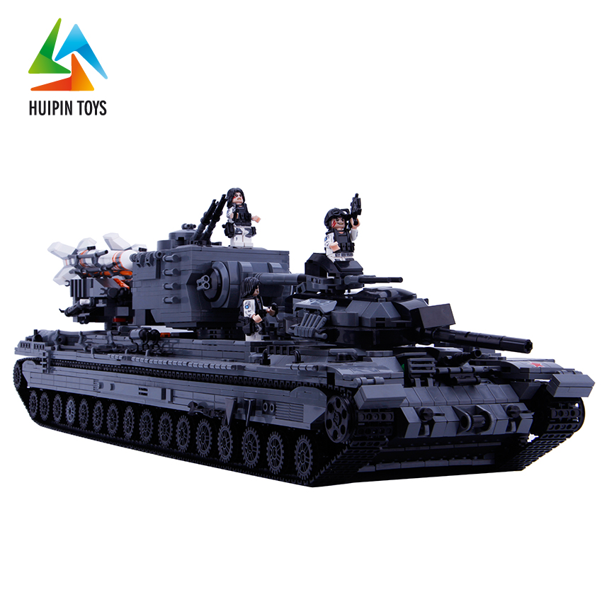 intelligence model tank plastic tube building blocks toy for selling XB-06006