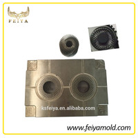 high precision plastic injection molding service for computer cooling fan
