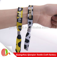 Single use new design one direction animal print wristbands