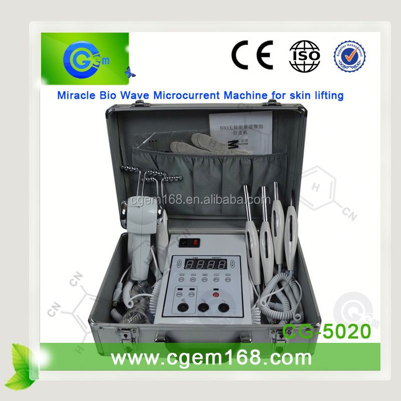 Hot selling rf wrinkle removal microcurrent face toning and lifting machine