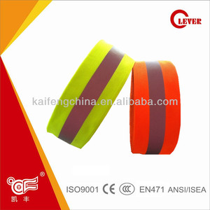 High Reflective 100% 3cm Nylon Ribbon For Safety Products Accessories
