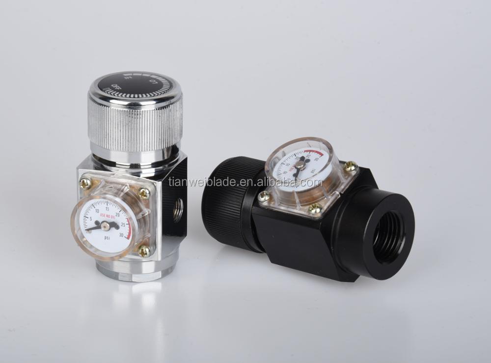 OEM CO2 Regulator - Solid Aluminum Body 0-125 PSI