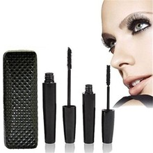 2pcs Long lasting private label organic black 3d fiber lash mascara