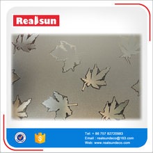 Maple leaves design decorative patterned kids window film