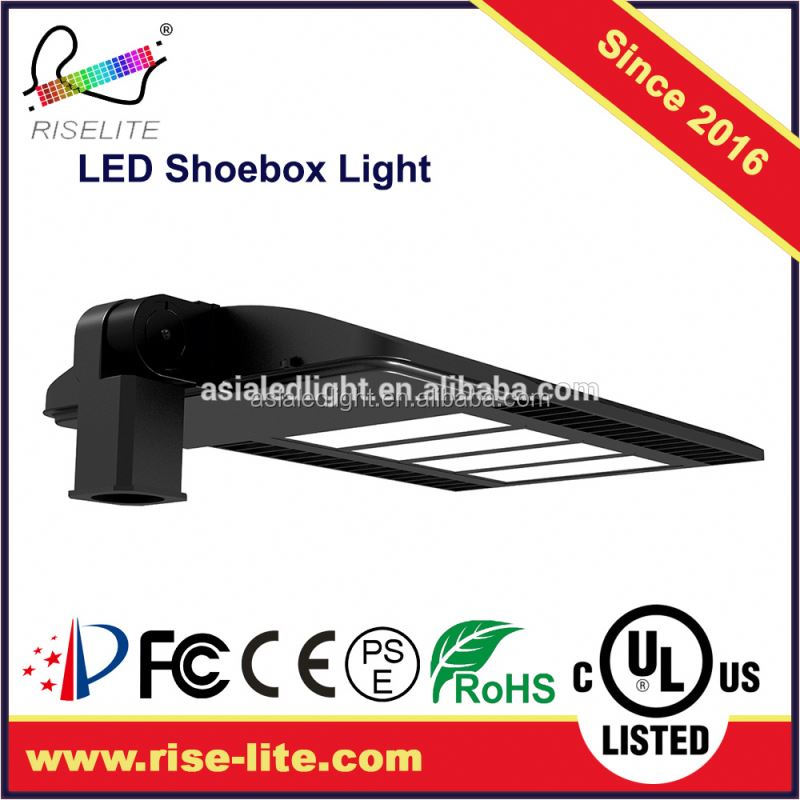 120W watt Photocell 1-10V dimming/PWM dimmable IP 65 IK10 street light LED replace HID/HPS/MHL 240W