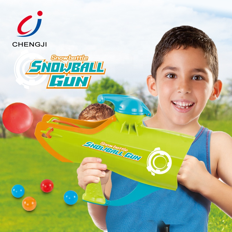New products 2 in 1 children outdoor toy paintball shooting game snowball gun