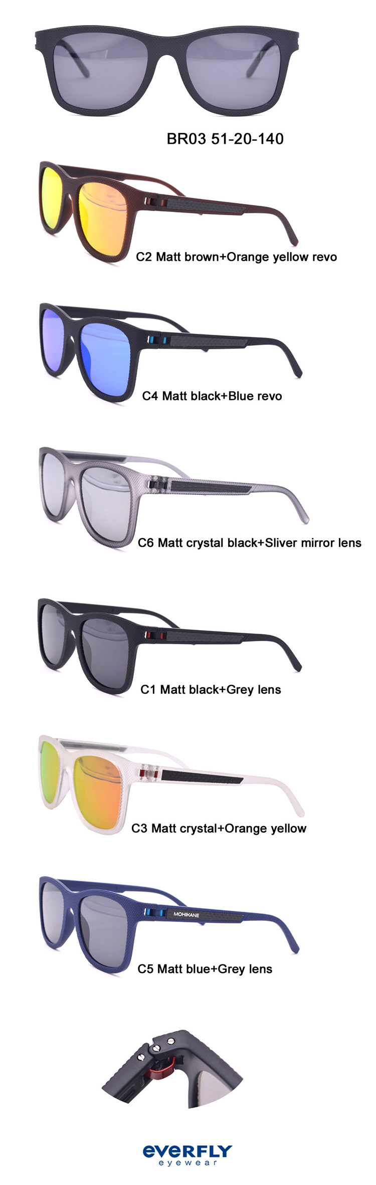 China Professional Manufacture Custom High Quality Retro Luxury Tr90 Sunglasses