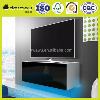 Modern Tv Stand Free Blue Led Cabinet Tv Table Unit In Choice Of Colours  White And Black   Buy Tv Stand,Tv Cabinet,Tv Unit Product On Alibaba.com