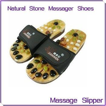 2012 Hot Sale Natural Stone Massager Shose/foot Massage Slipper ...