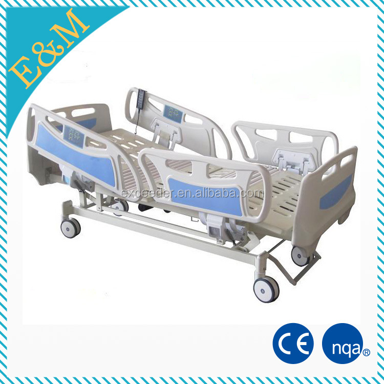 Medical bed with toilet with cheap hospital bed price for patient care
