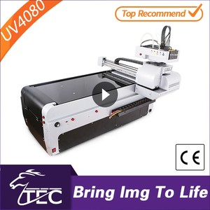Reasonable price A3 size TJ4080UV promotion uv curing uv ink tin can printing machine