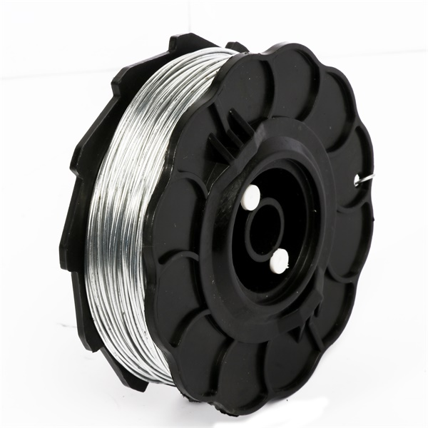 Small Plastic Spools Galvanized Automatic Rebar Tying Wire steel iron bar tier wire