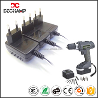 High Efficiency CE ROHS proved AC DC 4.8V Electric Screwdriver Adapters Power Supply