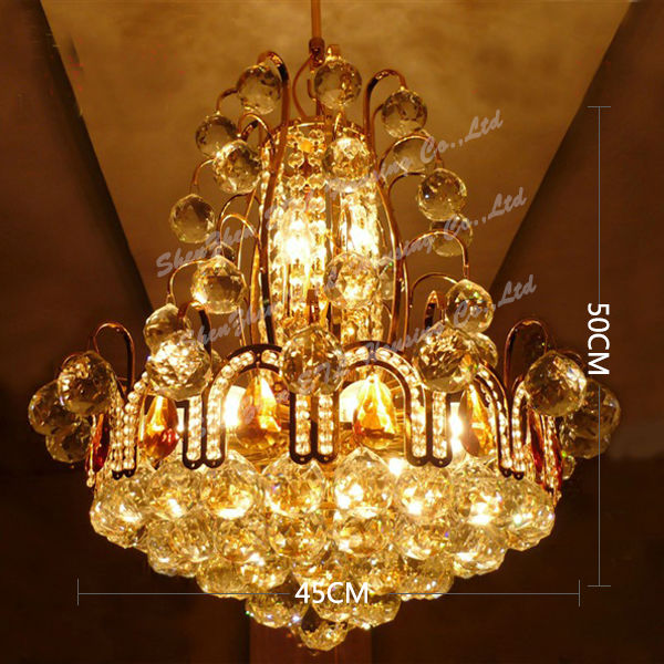 Cheap Fashionable Crystal Chandeliers For Bedroom