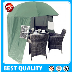 2.4-3.0 metre FISHING UMBRELLA SHELTER with hold down pegs beach sun shelter