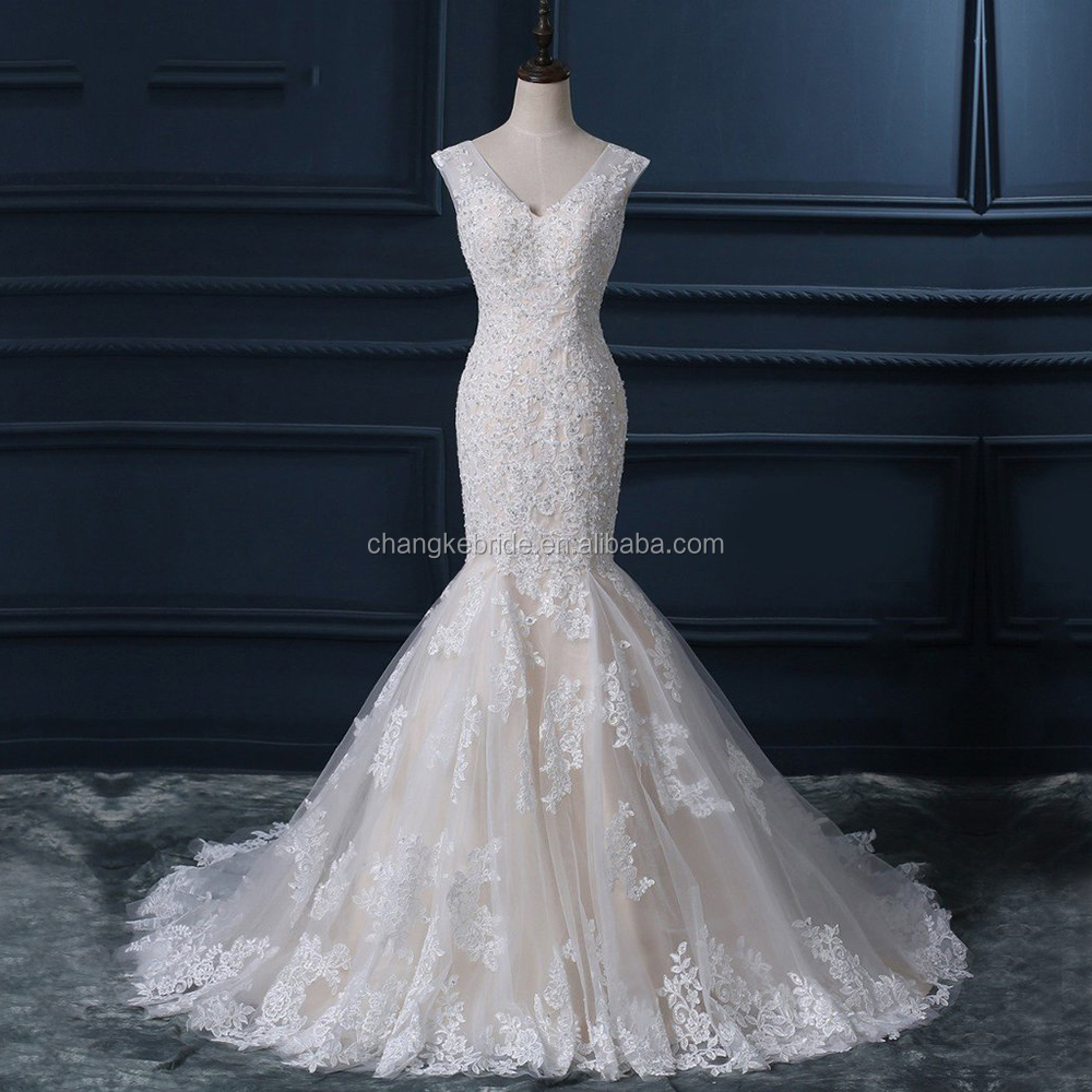 Mermaid 2018 Wedding Dress Di Bawah 100