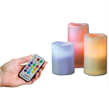 Attractive remote control adult student dancing flame led candle