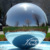 Multifunctional 304 large stainless steel large ball metal sculpture