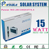 high euphotic rate and mechanical strength 15W Whole House Solar Power System