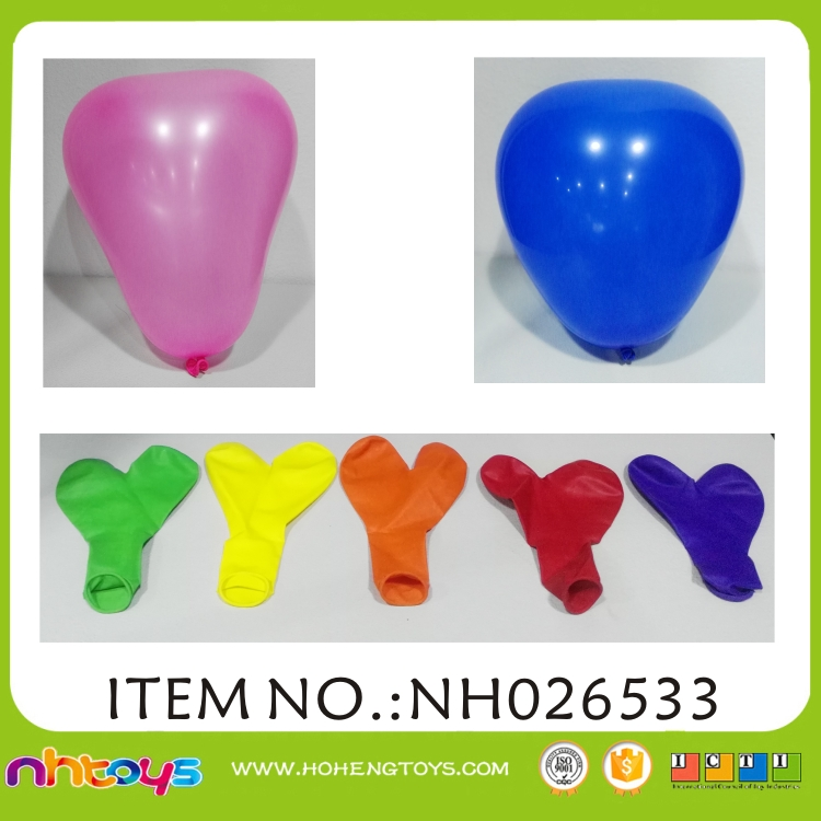 kids toy balloon colorful heart shaped balloon party balloon for decoration