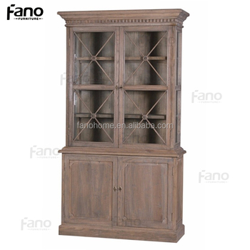 Vintage French Provincial Display Bookcase With Doors Buy Bookcase With Doors French Provincial Bookcase Vintage Bookcase Product On Alibaba Com