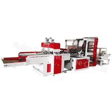 hot sale Safe and stable flexo printing industrial plastic bag making machine