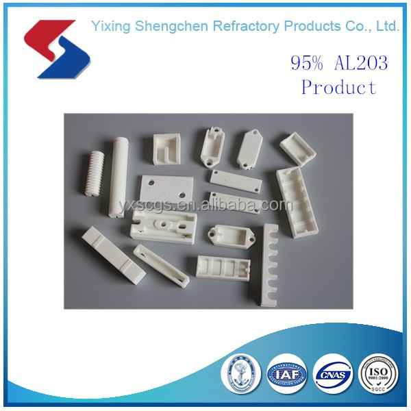 Excellent insulating Electrical alumina electrical ceramic