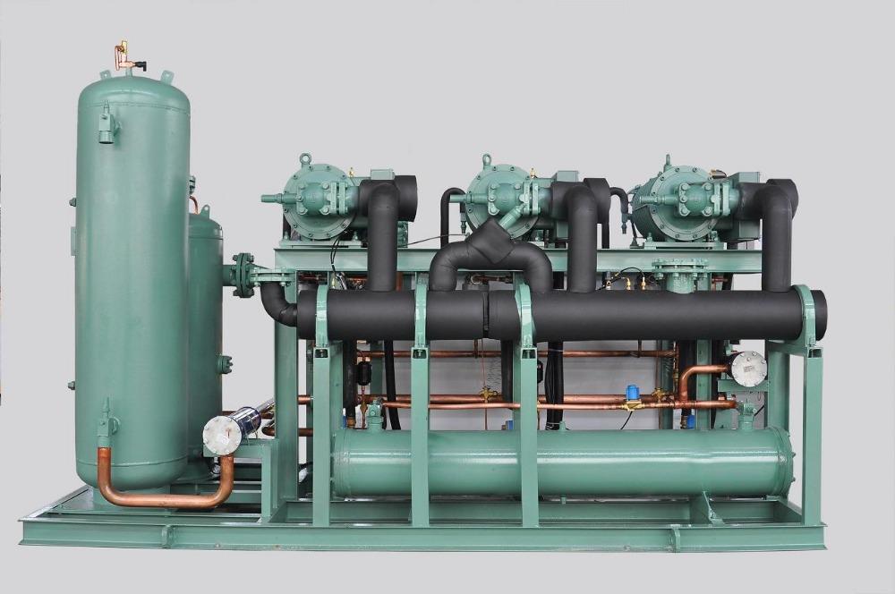 Kaideli Brand Compressor Rack With Bitzer Screw Compressor