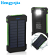 Most Popular 8000MAh Power Bank, Portable Waterproof Cargador Solar for Huawei Mate